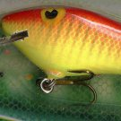 Vintage (1987) POE'S SUPER CEDAR Yellow/Red #935 Lure