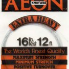 AEON Tapered Knotless Extra Heavy Fly Fishing Leader 16 Lb Test - 12 Foot Long