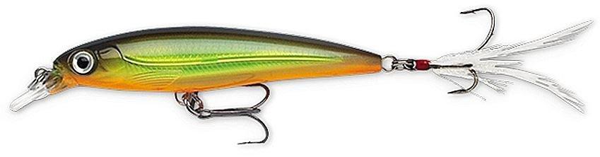 Rapala Moss Chartreuse Shad (XRSS10 MCSD) Slashbait Lure with SureSet Hook