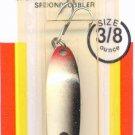 Luhr-Jensen Krocodile Silver Shad 3/8 oz Wobbler Spoon