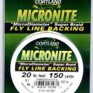 "Cortland Micronite ""SUPER BRAID"" White Fly Line Backing - 20 LB 150 YDS"