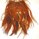 Keough #2 Brown Saddle Hackle Feathers
