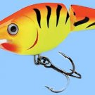 Rapala Jointed Hot Tiger Shad Rap (JSR07 HT) Suspending Rattling Fishing Lure
