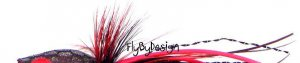Cortland Ultra Bass Black/Red Popping Bug Fly - Size 6