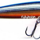 Rapala Silver Blue Husky Jerk (HJ08 SB) NEW Suspending Rattling Fishing Lure