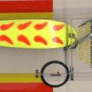 Luhr-Jensen Krocodile Chartreuse Fire Wing Wobble Spoon