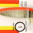 Luhr-Jensen Krocodile Hammered Brass/Fire Stripe Spoons