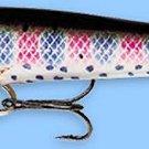 "Rapala 2-3/4"" F07-RT Original Floating Rainbow Trout Balsa Fishing Lure"