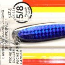 Luhr-Jensen Krocodile Chrome Blue Prism Wobble Spoons