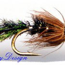 Zug Bug Nymph Fly Fishing Flies - Twelve Flies in Choice of a Bead & Hook Size