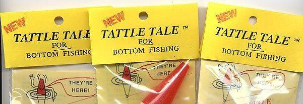 100 Wholesale Lot Tattle Tail Red/White Fishing Bobbers