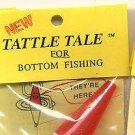 100 Wholesale Lot Tattle Tail Red/White Fishing Bobbers