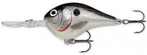 """Rapala 2-1/4"""" Rattling Silver Shad Lure Dives To 10 Ft."""
