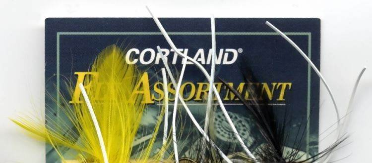 Cortland Small Panfish Poppers 3 Assorted Rubber Leg Fly Fishing Flies (Group A)