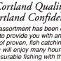 Cortland Bass Popping Bugs 3 Rubber Leg Fly Fishing Flies - Assortment Group B