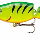 Rapala Jointed, Rattling, Suspending FireTiger Shad Rap Fishing Lure (JSR07-FT)