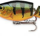 Rapala Jointed JSR07 Suspending Rattling Perch Shad Rap