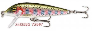 "Rapala Countdown 2-3/4"" Rainbow Trout Slow-Sinking Fishing Lure (CD-7 RT)"