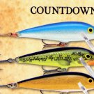 Rapala Silver Slow-Sinking Countdown Fishing Lure (CD01 S)