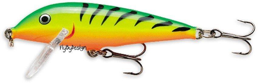 Rapala CD07-FT Sinking CountDown Firetiger Fishing Lure