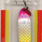 Luhr-Jensen Krocodile Rainbow/Silver Scale 3/8oz Spoon