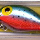 New Storm Magnum Wiggle Wart Metalic Rainbow Trout Lure