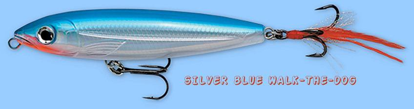 "NEW Rapala X-RAP Walk XRW11 (Silver Blue) 4-3/8"" Topwater Lure - SureSet Hook"