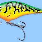 Rapala Firetiger DT Thug (DTTSS FT) Balsa Fishing Lure w/ VMC SureSet Hooks