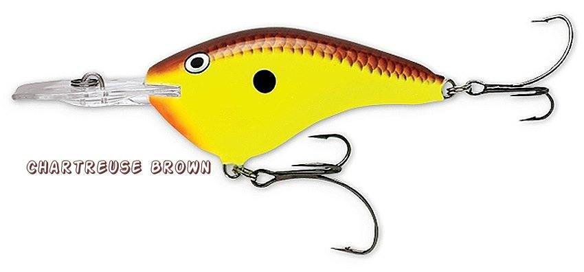 Rapala Flat Dives-to-7 Ft SureSet Chart Brown Lure