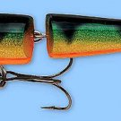 """NEW Rapala PERCH (J07 P) 2-3/4"""" Jointed Floating Broken-Back Fishing Lure"""