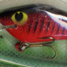 Vintage (1987) POE'S SUPER CEDAR Red/Black Crawdad #231