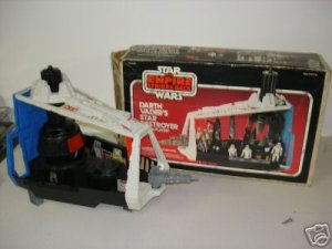star wars imperial star destroyer mint in box