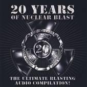 NUCLEAR BLAST 20TH ANNIVERSARY (4CDS)