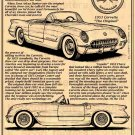 1953 Illustrated Corvette Series No. 1