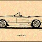 1954 Corvette Roadster Profile
