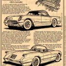 1955 Illustrated Corvette Series No. 3