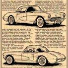 1956 Illustrated Corvette Series No. 4