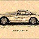 1957 Corvette Hardtop Profile