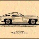 1957 Q Corvette Profile