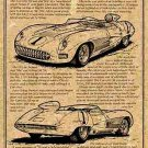 1957 SS Corvette Racer Illustrated Series No. 7