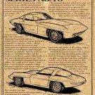 1957 Q Corvette Illustrated Series No. 10