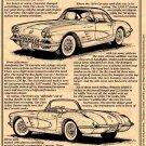 1958 Corvette Illustrated Series No. 8