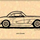 1960 Corvette Hardtop Profile