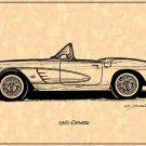 1961 Corvette Roadster Profile