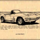 1961 Mako Shark Corvette
