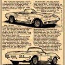 1961 Mako Shark I Show Car Illustrated Series No. 15