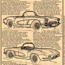 1961 Corvette Illustrated Series No. 14