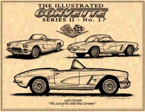1962 Corvette Roadster and Coupe