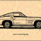 1963 Corvette Sting Ray Coupe Profile