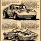 1963 Grand Sport Corvette Coupe Illustrated Series No. 19